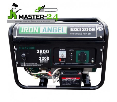 Бензиновый генератор Iron Angel EG-3200 E