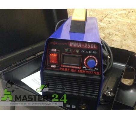 Сварочный инвертор Луч Профи ММА 250L + большой кейс