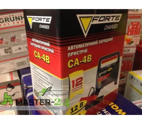 Автомобильное зарядное устройство Forte CA-4B