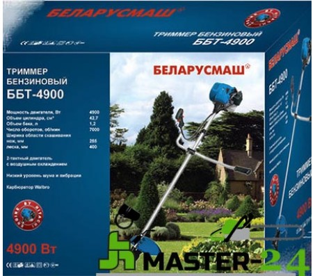 Бензокоса Беларусмаш ББТ-4900 (3 ножа + 2 элемента с леской)