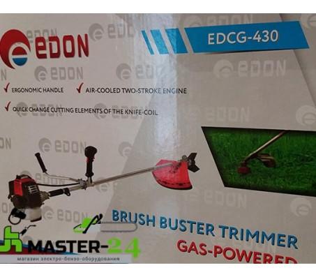 Бензокоса Edon EDCG-430 (Нож + Леска)