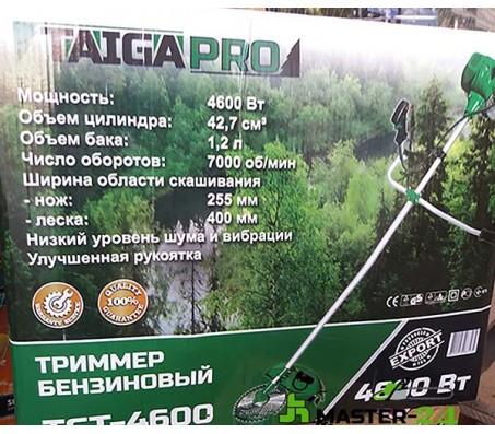 Бензокоса Тайга TGT-4600 Pro (1 нож + 1 леска)