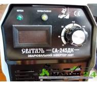 Сварочный инвертор Свитязь СА-245 ДК (Кейс+Дисплей)