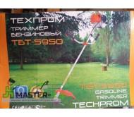 Бензокоса Техпром ТБТ-5950 (3 ножа+леска+паук+ранец)