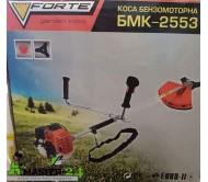 Бензокоса Forte БМК-2553 (Нож + Катушка)