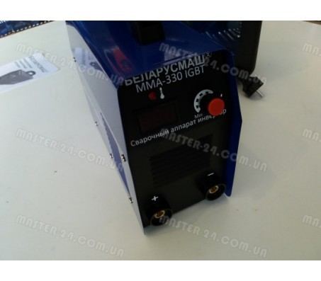 Сварочный инвертор Беларусмаш ИСА ММА-330 IGBT (Кейс)