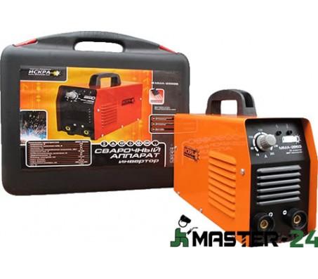 Сварочный аппарат инвертор Искра ММА-285 G (Кейс)