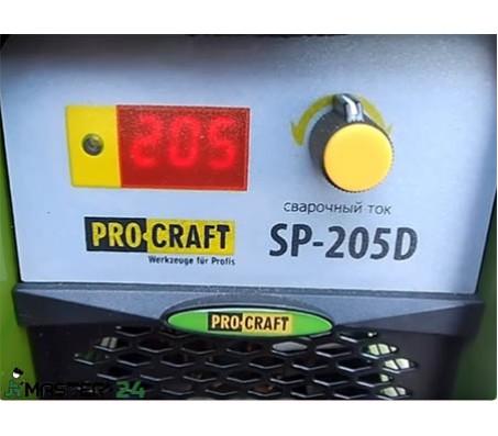 Сварочный аппарат инвертор Procraft SP-205D