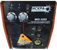 Сварочный полуавтомат Искра MIG-320S + MMA