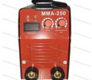 Сварочный инвертор Зубр ММА 250 (Форсаж + Кейс)
