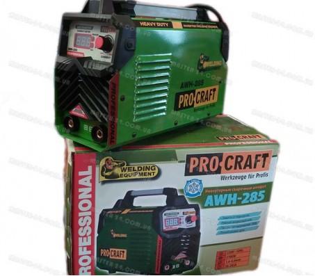 Сварочный инвертор Procraft AWH-285 (Пониженное энергопотребление)