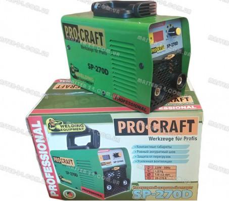 Сварочный аппарат инвертор Procraft SP-270D (с табло)