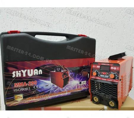 Сварочный инвертор Shyuan MMA 290 (Кейс)